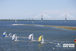 J/80s sailing Charleston Harbor