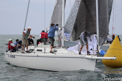 J/120 CC Rider sailing Yachting Cup