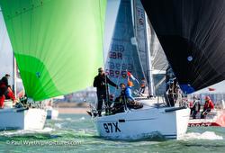 J/97E sailing on the Solent