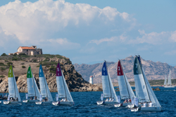 J/70 Sailing Champions League off Sardinia