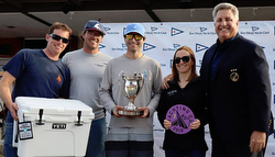 J/70 TANGAROA Wins Yachting Cup Overall!