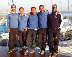 La Superba J/24 sailing crew