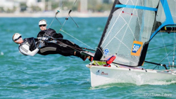 Stephanie Roble- 49erFX skipper Olympics USA