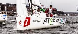 J/70 sailing in Danish sailing league