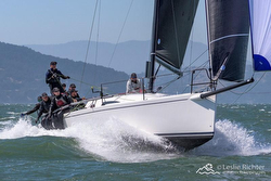 Australian J/111 sailing San Francisco Bay