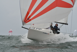 J/70s sailing off California