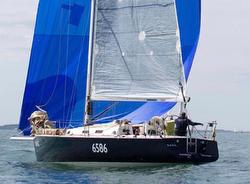 J/120 sailing RORC race