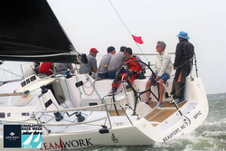 J/122 Teamwork sailing Charleston Race Week