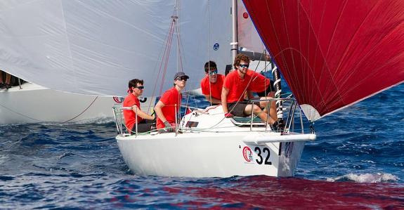 J/80 sailing in France
