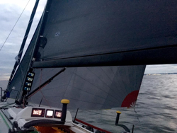 J/109 sailing fast Block Island race