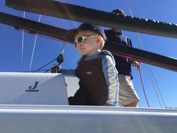 J/70 Vineyard Vines- skipper Charlie Baxter