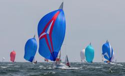J/105s sailing Buzzards Bay