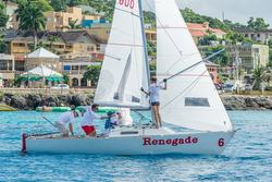 J/22 sailing Jammin Jamaica regatta
