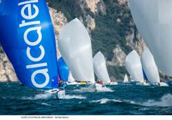 Alcatel J/70 Cup sailing fast!