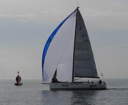 J/122E Ajeto winning North Sea Race