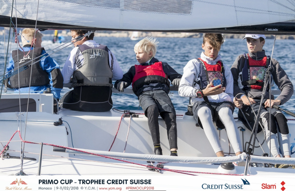 J/70 Monaco Youth team at Primo Cup