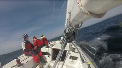 J/105 Oregon Offshore sailing video