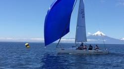 J/80 sailing Chile