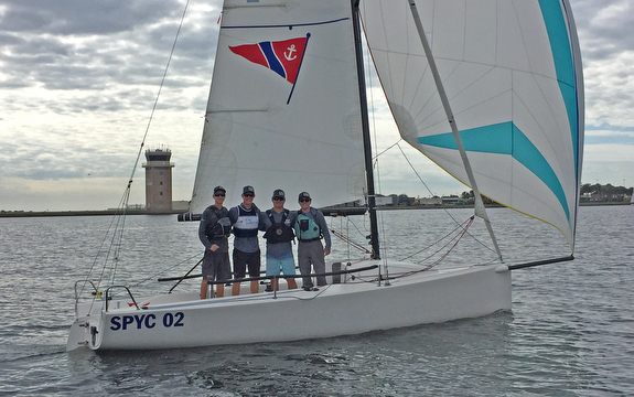 King Harbor YC- U.S. J/70 Youth Champions