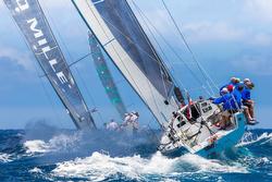 J/125 sailing St Barths