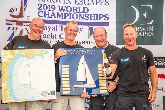 J/70 Corinthian World Champions