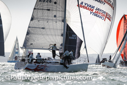 J/109 racing Hamble Winter Series