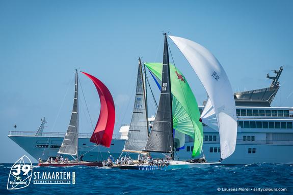 J/122 sailing St Maarten Heineken Regatta