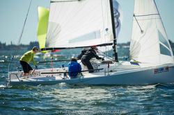 J/70 sailor Will Welles at St Pete regatta