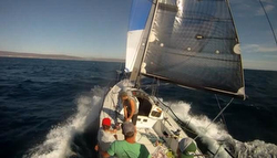 J/125 Timeshaver sailing to Puerto Vallarta