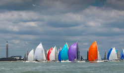 RORC offshore race start