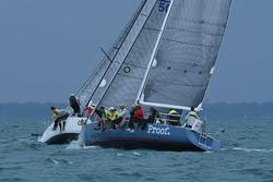J/120 sailing Bayview Mac race