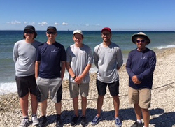 J/88 Blue Flash crew- Chicago-Mackinac Race