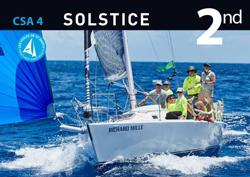 J/105 Solstice sailing St Barth