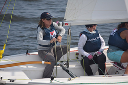 Nicole Breault- sailing J/22 match race