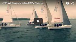 J80 sailing video