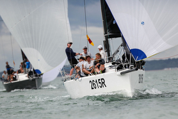 J/111 sailing Europeans