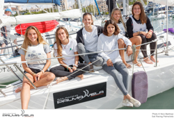 J/80 women sailing in Spain