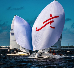 J/70s sailing Tampa Bay