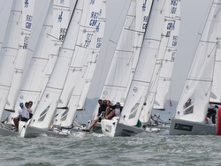 J/70s starting at J/Cup on the Solent