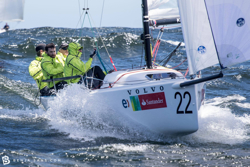 J/70 sailing off Chile- South Americans