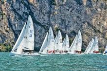 J/70s sailing Lago di Garda