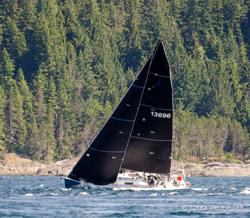 J/125 sailing Van Isle 360 Race
