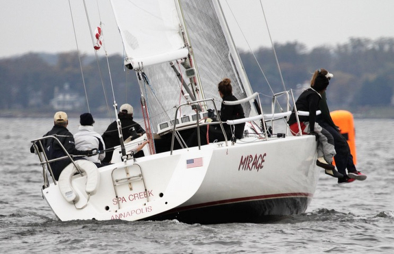 J/105 Mirage winning Chesapeake Bay regatta