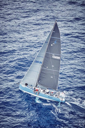 J/125 Hamachi sailing St Barth regatta
