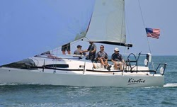 J/111 sailing Gulfstream Race