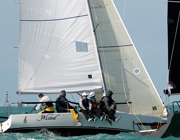 J/80 Wired sailing Key West