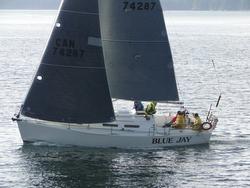 J/32 sailing Van Isle 360 race