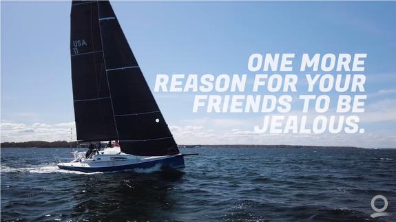 J/99 sailing fast