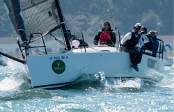 J/88 sailing Rolex Big Boat Series