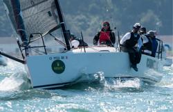 J/88 sailing Rolex Big Boat Series